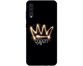 Husa Silicon Soft Upzz Print Samsung Galaxy A50 Model Queen