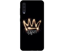 Husa Silicon Soft Upzz Print Samsung Galaxy A50 Model Queen