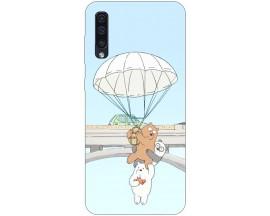 Husa Silicon Soft Upzz Print Samsung Galaxy A50 Model Three Bears