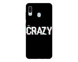 Husa Silicon Soft Upzz Print Samsung Galaxy A30 Model Crazy