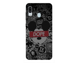 Husa Silicon Soft Upzz Print Samsung Galaxy A30 Model Dope