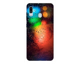 Husa Silicon Soft Upzz Print Samsung Galaxy A30 Model Multicolor