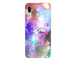 Husa Silicon Soft Upzz Print Samsung Galaxy A30 Model Neon Love