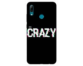 Husa Silicon Soft Upzz Print Huawei P Smart 2019 Model Crazy