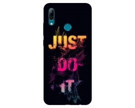 Husa Silicon Soft Upzz Print Huawei P Smart 2019 Model Jdi