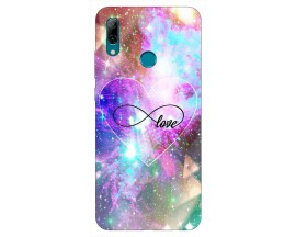 Husa Silicon Soft Upzz Print Huawei P Smart 2019 Model Neon Love