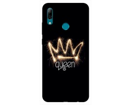 Husa Silicon Soft Upzz Print Huawei P Smart 2019 Model Queen