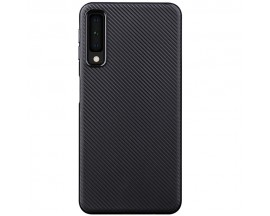 Husa Spate Upzz Carbon Fiber Samsung Galaxy A50,silicon ,slim Neagra
