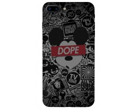 Husa Silicon Soft Upzz Print iPhone 7/8 Plus Model Dope