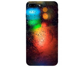 Husa Silicon Soft Upzz Print iPhone 7/8 Plus Model Multicolor