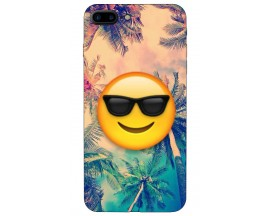 Husa Silicon Soft Upzz Print iPhone 7/8 Plus Smile