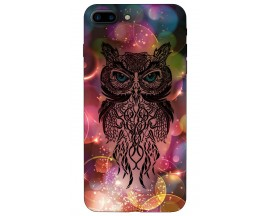 Husa Silicon Soft Upzz Print iPhone 7/8 Plus Model Sparke Owl