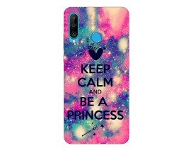 Husa Silicon Soft Upzz Print Huawei P30 Lite Model Be Princess