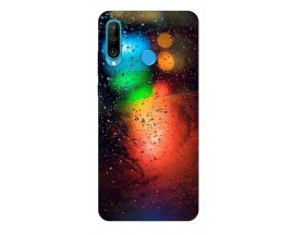 Husa Silicon Soft Upzz Print Huawei P30 Lite Model Multicolor