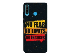 Husa Silicon Soft Upzz Print Huawei P30 Lite Model No Fear