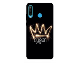 Husa Silicon Soft Upzz Print Huawei P30 Lite Model Queen
