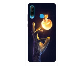 Husa Silicon Soft Upzz Print Huawei P30 Lite Model Reach