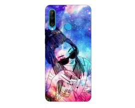 Husa Silicon Soft Upzz Print Huawei P30 Lite Model Together