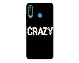 Husa Silicon Soft Upzz Print Huawei P30 Lite Model Crazy