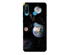 Husa Silicon Soft Upzz Print Huawei P30 Lite Model Earth
