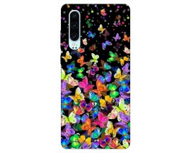 Husa Silicon Soft Upzz Print Huawei P30 Model Colorature