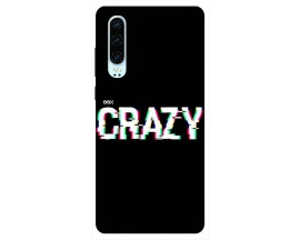 Husa Silicon Soft Upzz Print Huawei P30 Model Crazy