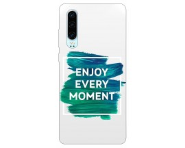Husa Silicon Soft Upzz Print Huawei P30 Model Enjoy
