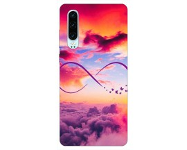 Husa Silicon Soft Upzz Print Huawei P30 Model Infinity