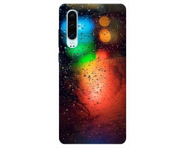 Husa Silicon Soft Upzz Print Huawei P30 Model Multicolor