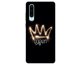 Husa Silicon Soft Upzz Print Huawei P30 Model Queen