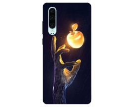 Husa Silicon Soft Upzz Print Huawei P30 Model Reach