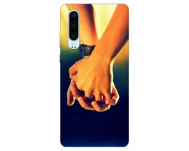 Husa Silicon Soft Upzz Print Huawei P30 Model Together