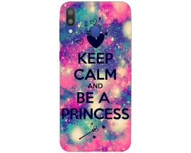 Husa Silicon Soft Upzz Print Samsung Galaxy M20 Model Be A Princess