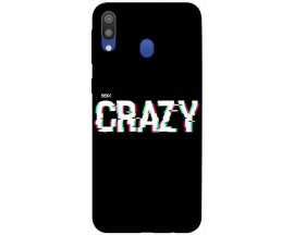 Husa Silicon Soft Upzz Print Samsung Galaxy M20 Model Crazy