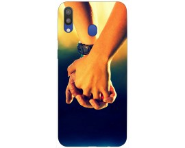 Husa Silicon Soft Upzz Print Samsung Galaxy M20 Model Together