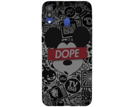 Husa Silicon Soft Upzz Print Samsung Galaxy M20 Model Dope