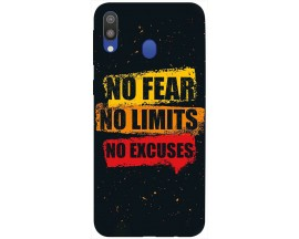 Husa Silicon Soft Upzz Print Samsung Galaxy M20 Model No Fear