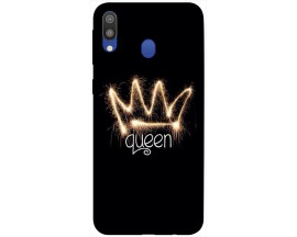 Husa Silicon Soft Upzz Print Samsung Galaxy M20 Model Queen