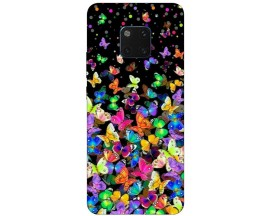 Husa Silicon Soft Upzz Print Huawei Mate 20 Pro Model Colorature