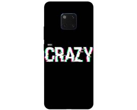 Husa Silicon Soft Upzz Print Huawei Mate 20 Pro Model Crazy