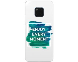 Husa Silicon Soft Upzz Print Huawei Mate 20 Pro Model Enjoy