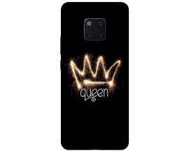 Husa Silicon Soft Upzz Print Huawei Mate 20 Pro Model Queen