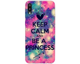 Husa Silicon Soft Upzz Print Samsung Galaxy M10 Model Be A Princess