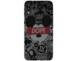 Husa Silicon Soft Upzz Print Samsung Galaxy M10 Model Dope