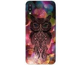 Husa Silicon Soft Upzz Print Samsung M10 Model Sparkle Owl