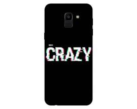 Husa Silicon Soft Upzz Print Samsung J6 2018 Model Crazy