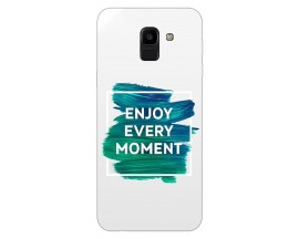 Husa Silicon Soft Upzz Print Samsung J6 2018 Model Enjoy