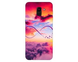 Husa Silicon Soft Upzz Print Samsung J6 2018 Model Infinity