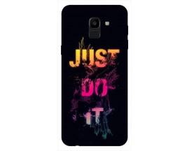 Husa Silicon Soft Upzz Print Samsung J6 2018 Model JDI