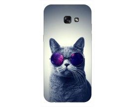 Husa Silicon Soft Upzz Print Samsung A5 2017 Model Cool Cat